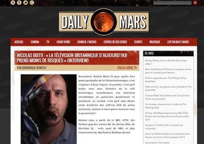 Interview sur les séries anglaises par le Grand Maitre du GOS