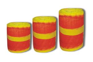 Orange and Yellow Barrier Netting