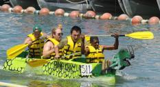 Heber Springs Cardboard Boat Races on Greers Ferry Lake