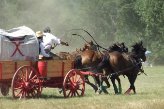 National Championship Chuckwagon Races held every Labor Day