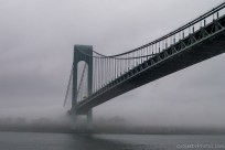 Verazzano Bridge in Fog