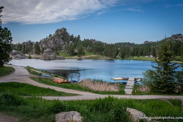 Path Around Sylvan Lake