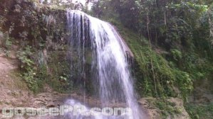 Salto Collazo Waterfall in San Sebastian Puerto Rico 2