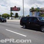 President Obama Chevy Suburban Motorcade