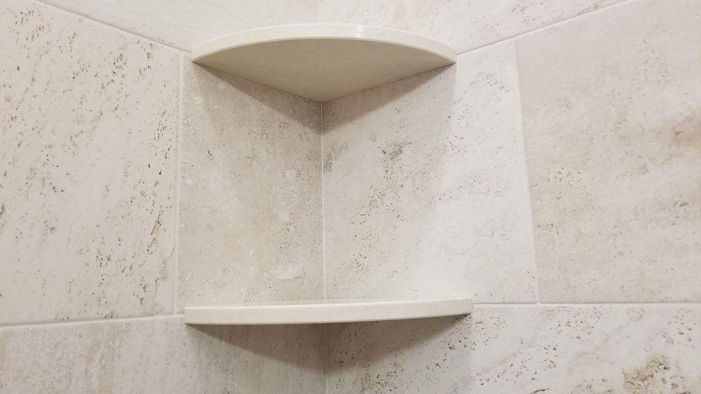ceramic corner shower caddy shelf the