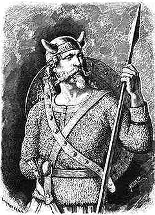 Týr, the Norse god of heroic glory and the law. With thanks to Pinterest.
