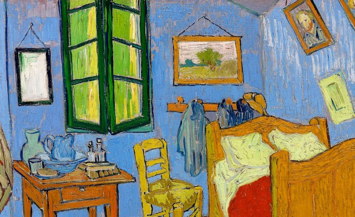 Bedroom in Arles