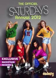 The Official The Saturdays Annual 2012 book