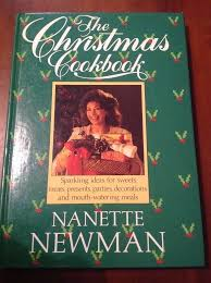 The Christmas Cookbook - Nanette Newman book