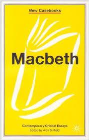 Macbeth-New Casebooks-Alan Sinfield book