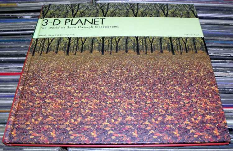 3-D PLANET The World As Seen Through Stereograms - Hiroshi Kunoh & Eui Takaoki book