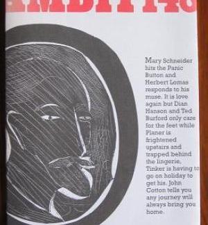 Ambit 148 - Martin Bax ( editor) book