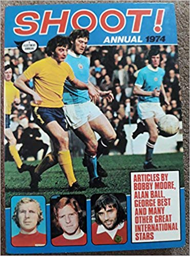 Shoot! Annual 1974 book