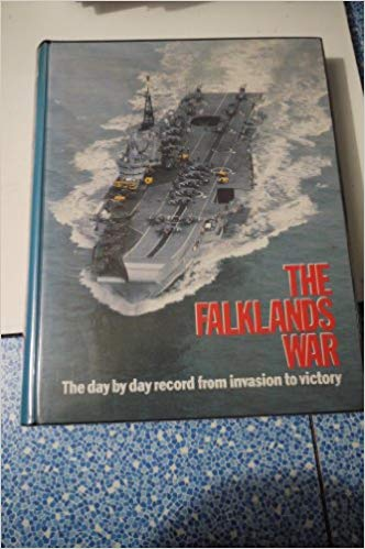 The Falklands War - Marshall Cavendish ( publishers) ring binder and magazines