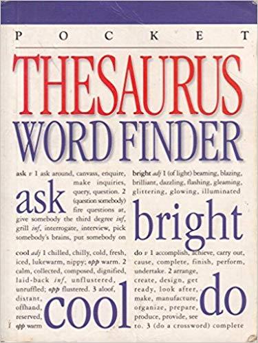 Thesaurus Word Finder - Roz Combley et al book