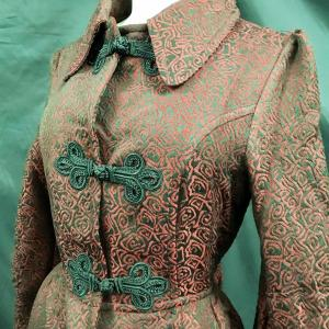 Steampunk Gothic Vintage Style Jacket BY Raven 1