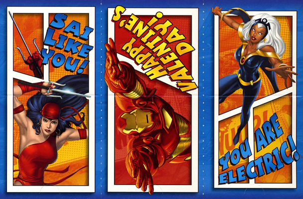 Valentine Day Cards Of Epic Geeky Proportions