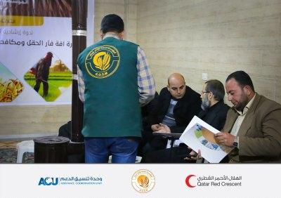 ندوة إرشادية لمزارعي حماة