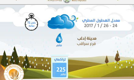 Infographic of Rainfall on 24-26 / 1