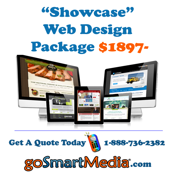 Showcase Web Design Package