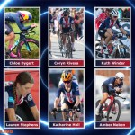photos of USA Cycling's long team in women's road racing