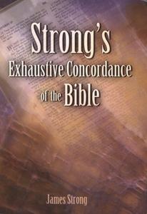 Strongs Concordance