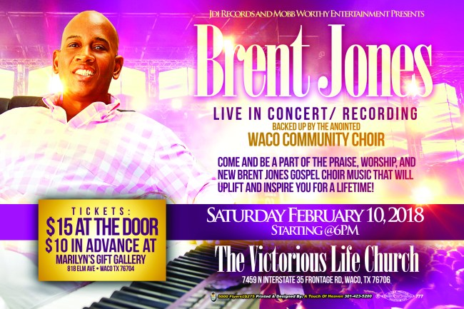 brent jones - live recording - front