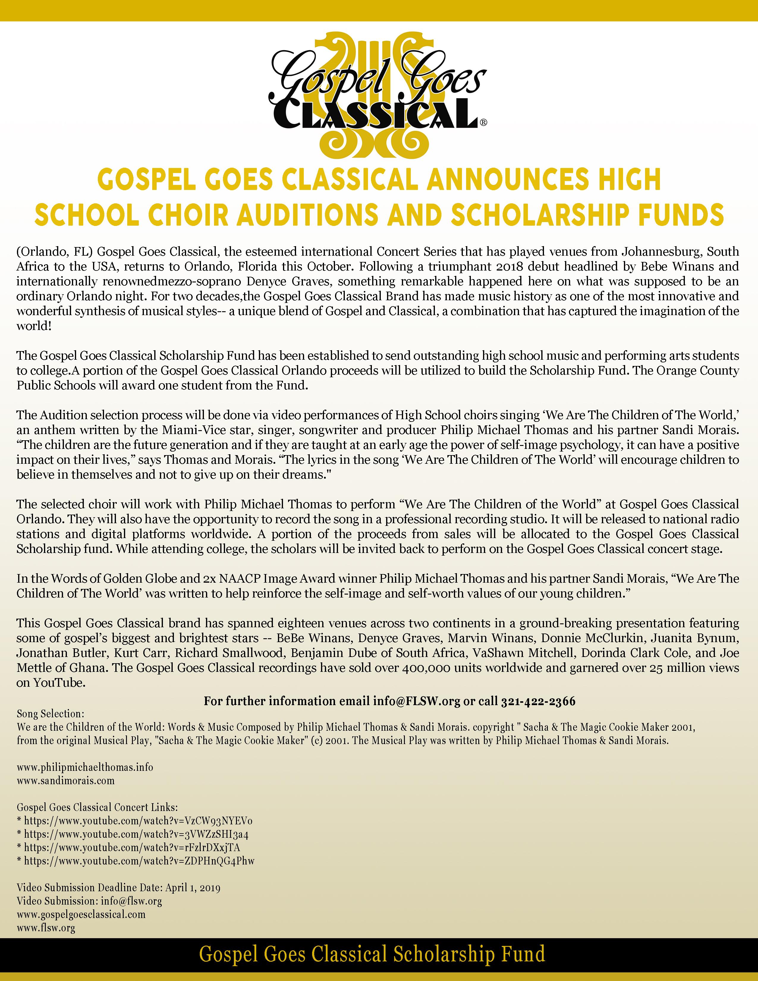 News – Gospelgoesclassical