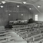 1961: Inside the newly renovated building on Avenuepark Street