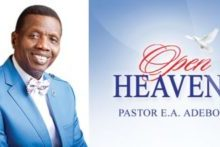 Open Heaven 28 March 2021 Sunday Daily Devotional By Pastor E. A. Adeboye – Rejoice Evermore