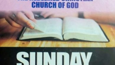 RCCG Sunday School STUDENT Manual 28 March 2021 – Lesson 30