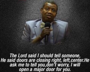 Open Heaven 26 September 2021 – You Will Be Commended By Pastor E A Adeboye