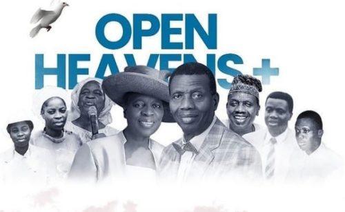 Open Heaven 3 October 2021 – Open Heavens For Today