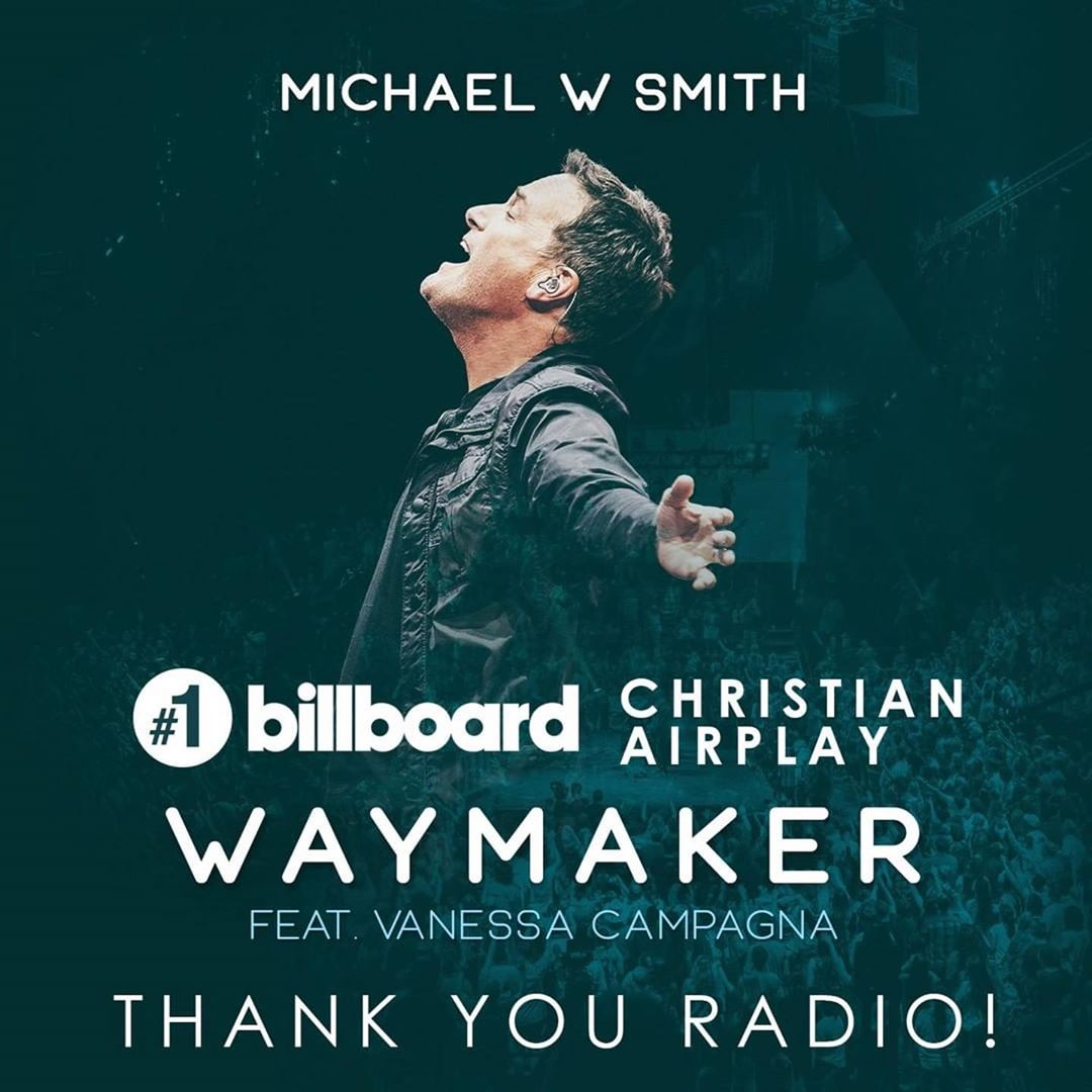 """therealsinach_96570466_1503694789790118_432782637064064824_n Michael W. Smith's """"Waymaker"""" Top No. 1 Spot On Christian Airplay Chart"""