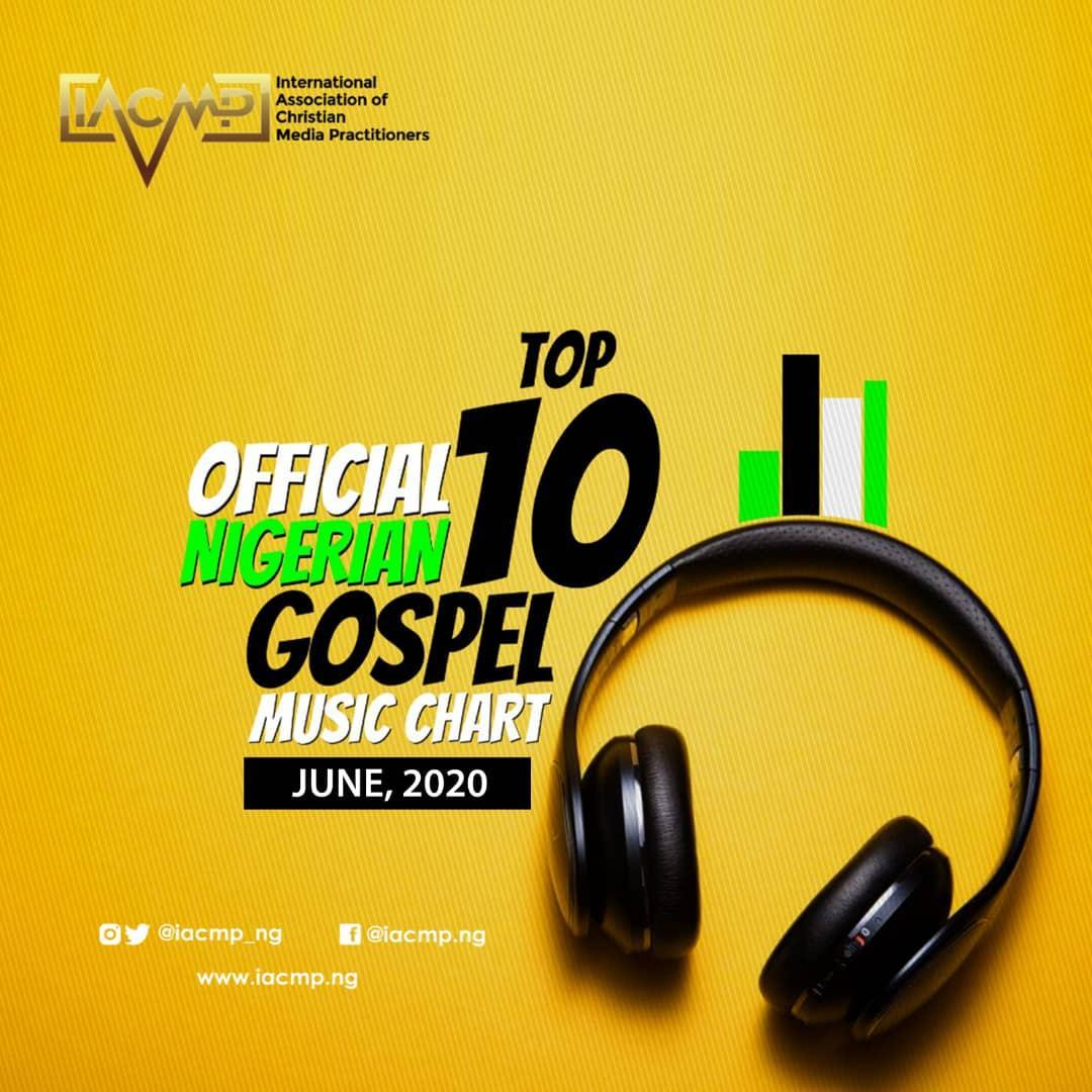 IACMP Nigeria Gospel Music Top 10 Chart [June 2020]