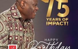 Happy 75th Birthday To Bishop Mike Okonkwo