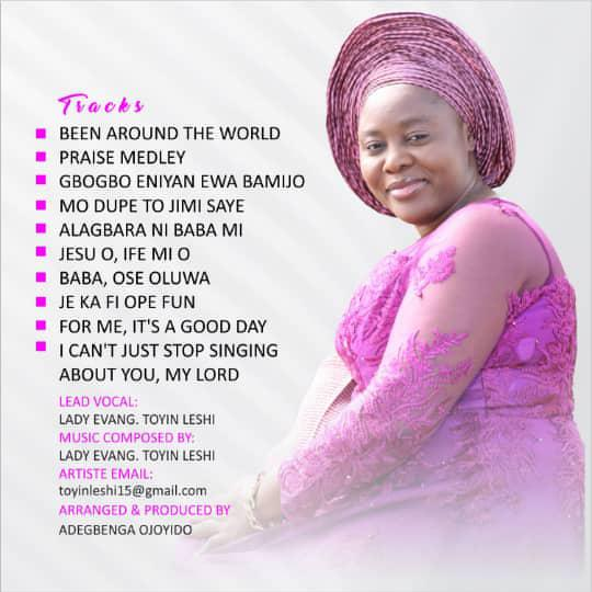Lady Evang Toyin Leshi & Her Divine Melodies - My Love Song track