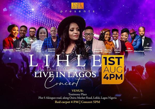 Lihle Adeyemi Live In Lagos Concert