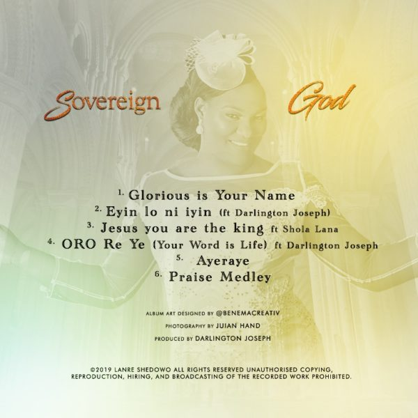 Lanre-Shedowo-Sovereign-Godd [Album] Lanre Shedowo – Sovereign God