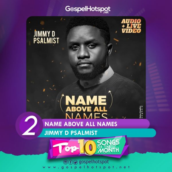 Jimmy D Psalmist – Name Above All Names
