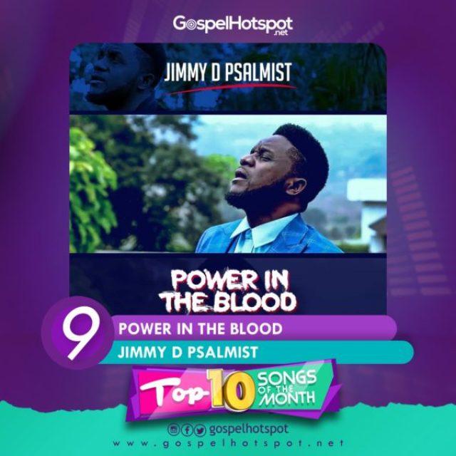 Jimmy D Psalmist – Power In The Blood