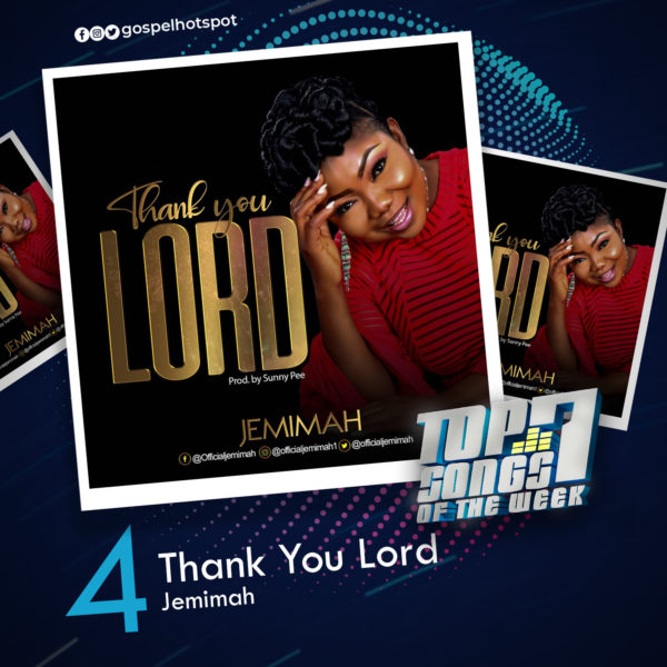 Jemimah – Thank You Lord