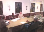 Board of Stewards meeting together