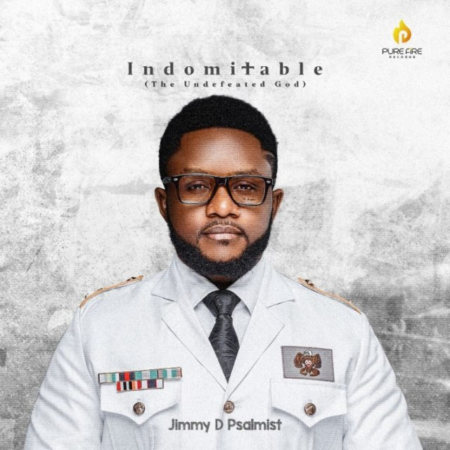 "New Album ""INDOMITABLE"" By Jimmy D Psalmist"