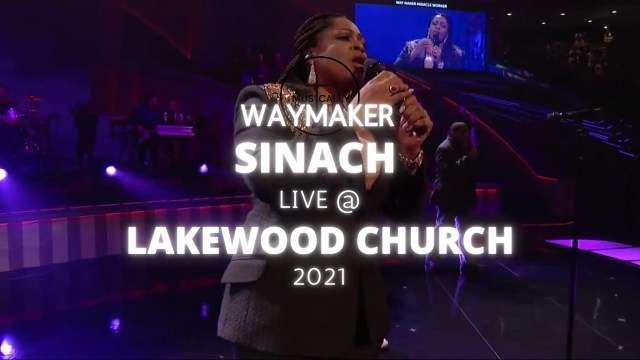 Sinach - Way Maker   Lakewood Church, 2021