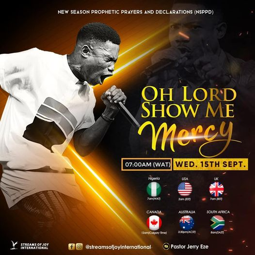 [NSPPD] 15th September 2021 Live Prayers With Pastor Jerry Eze