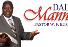 Daily Manna - Pastor W.F Kumuyi