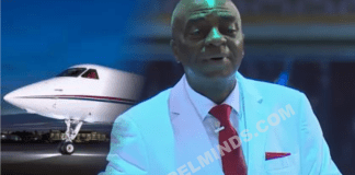 David Oyedepo was save from plane crash