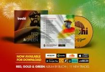 Buchi - Red Gold & Green