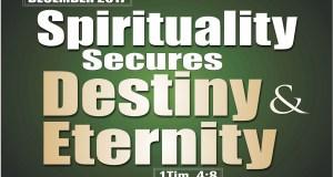 December 2017 Prophetic Focus